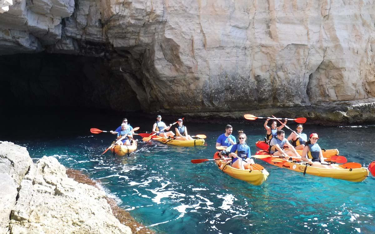 Las tres mejores rutas en kayak del Parque Natural De Cabo De Gata – Níjar